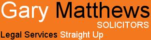 Gary Matthews Solicitors Logo