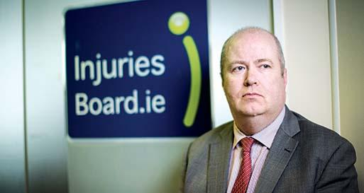 Conor O'Brien CEO of Injuries Board. 30/3/2016 Picture by Fergal Phillips